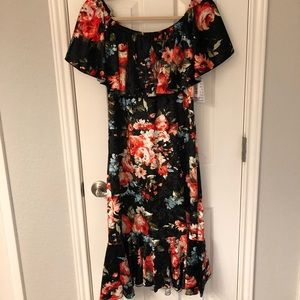 LuLaRoe CiCi Velvet Dress
